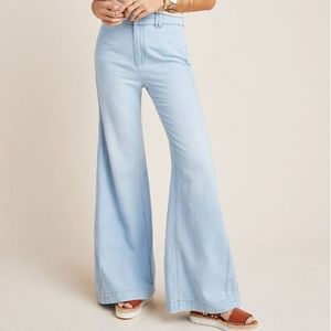 Pilcro High Rise Flare Jeans Anthropologie NWTs